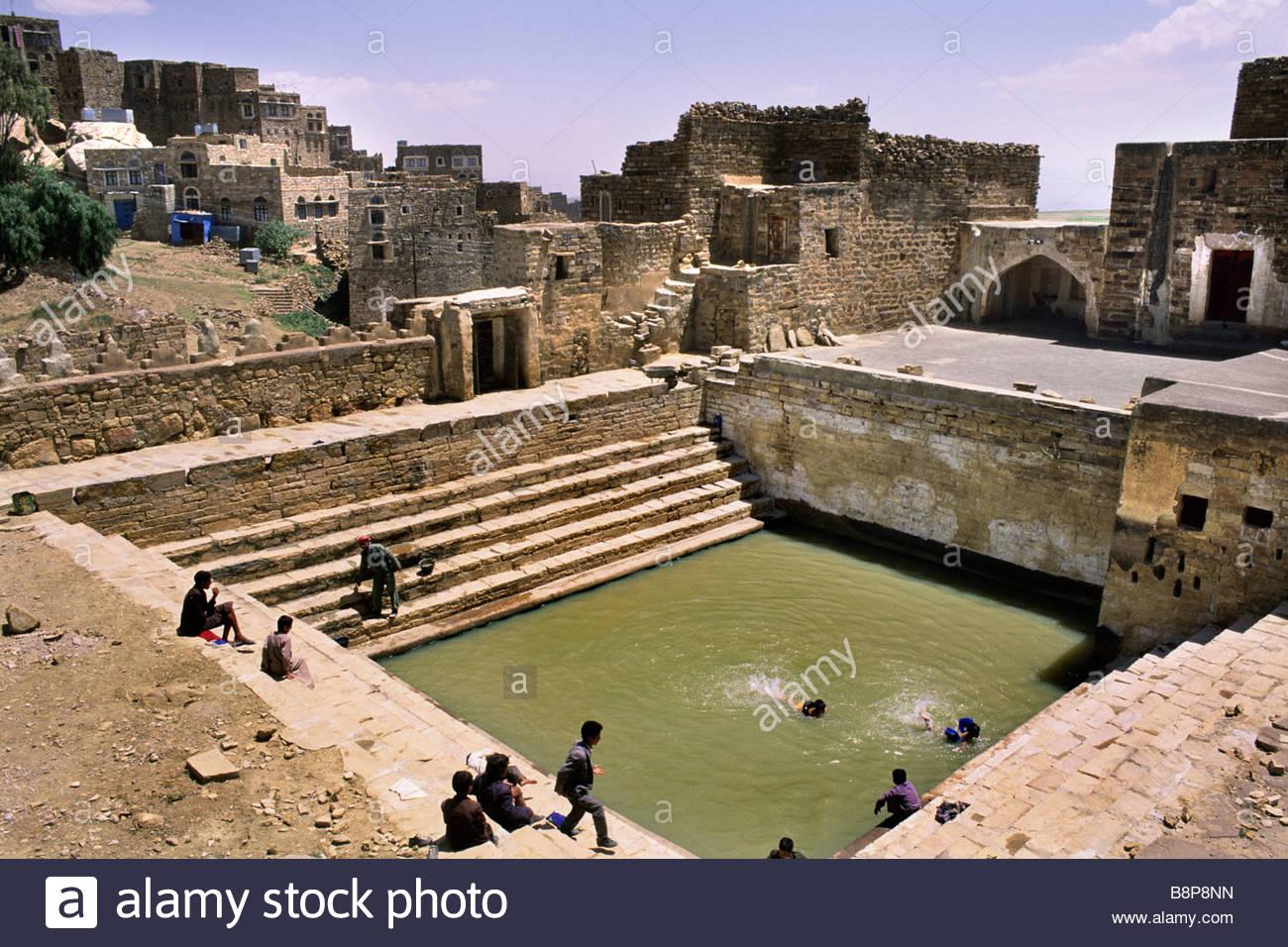 thula, yemen, arabian peninsula - Stock Image