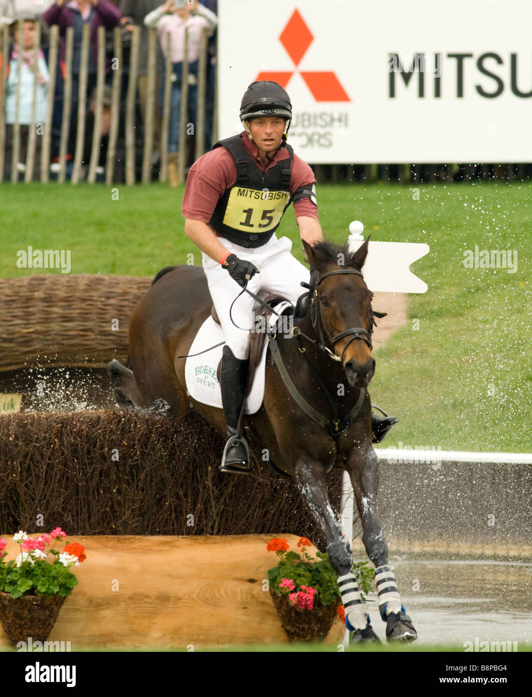 Three day eventing - Stock Image