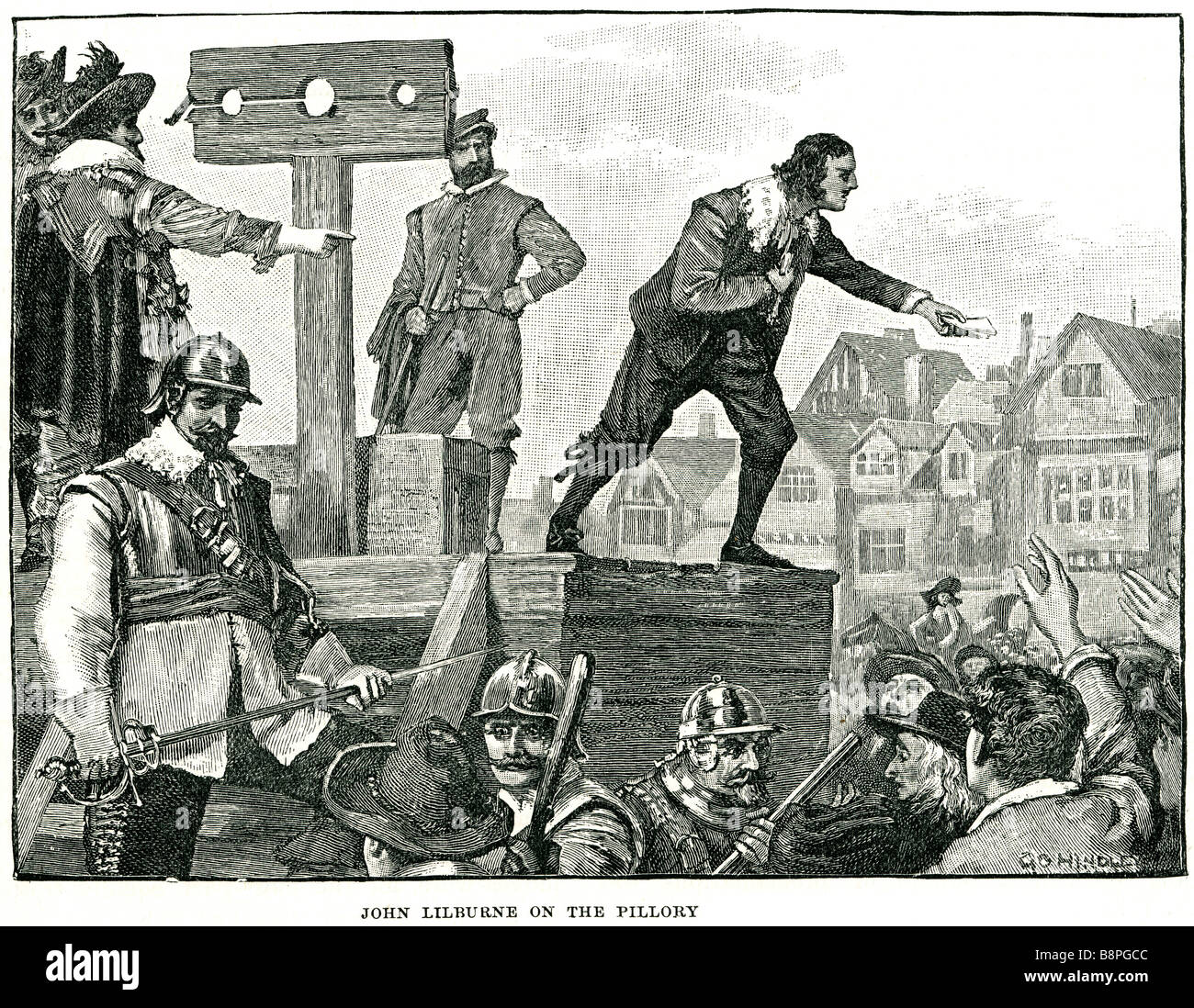 john lilburne on the pillory John Lilburne (1614 – 29 August 1657), also  known as Freeborn John, was an agitator in England befo