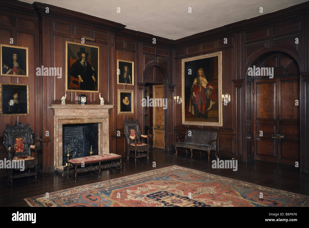 The Hall at Antony House One of Cornwall s finest early 18th