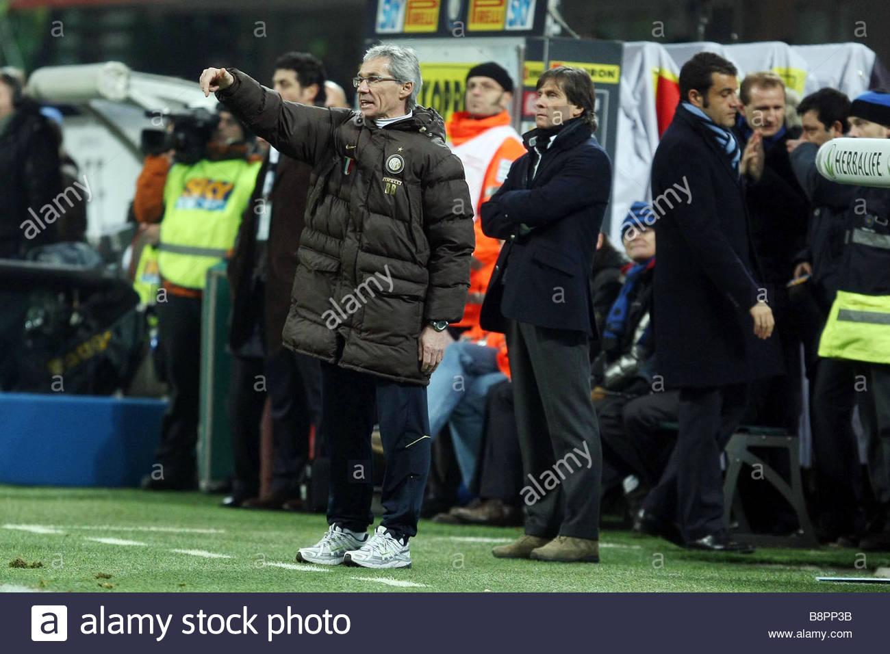 giuseppe baresi inter vice trainer'milano 2009 'serie a football championship 2008/2009 'inter-sampdoria - Stock Image