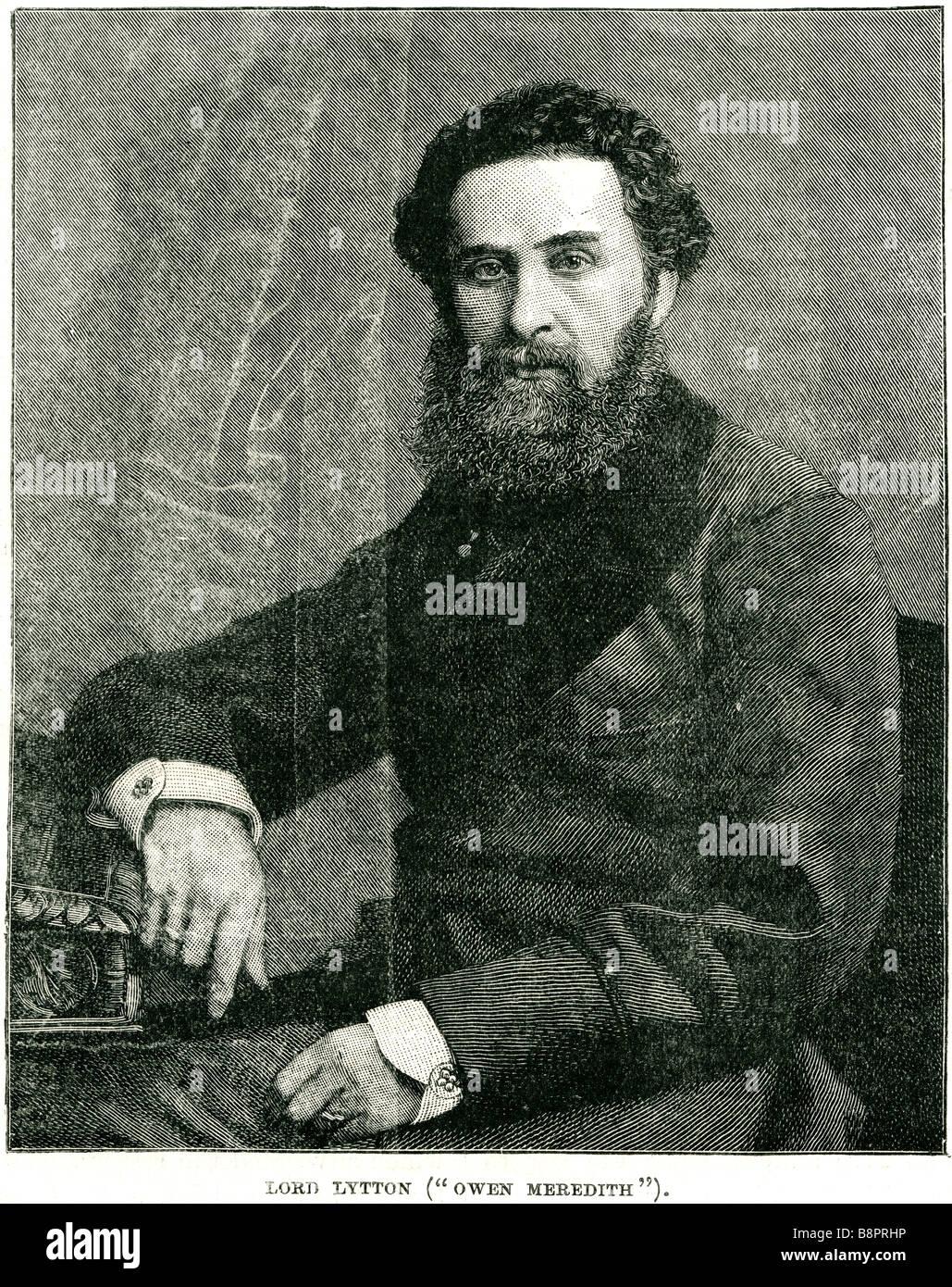 Edward George Earle Lytton Bulwer 1803 1873 English novelist poet playwright politician Stock Photo