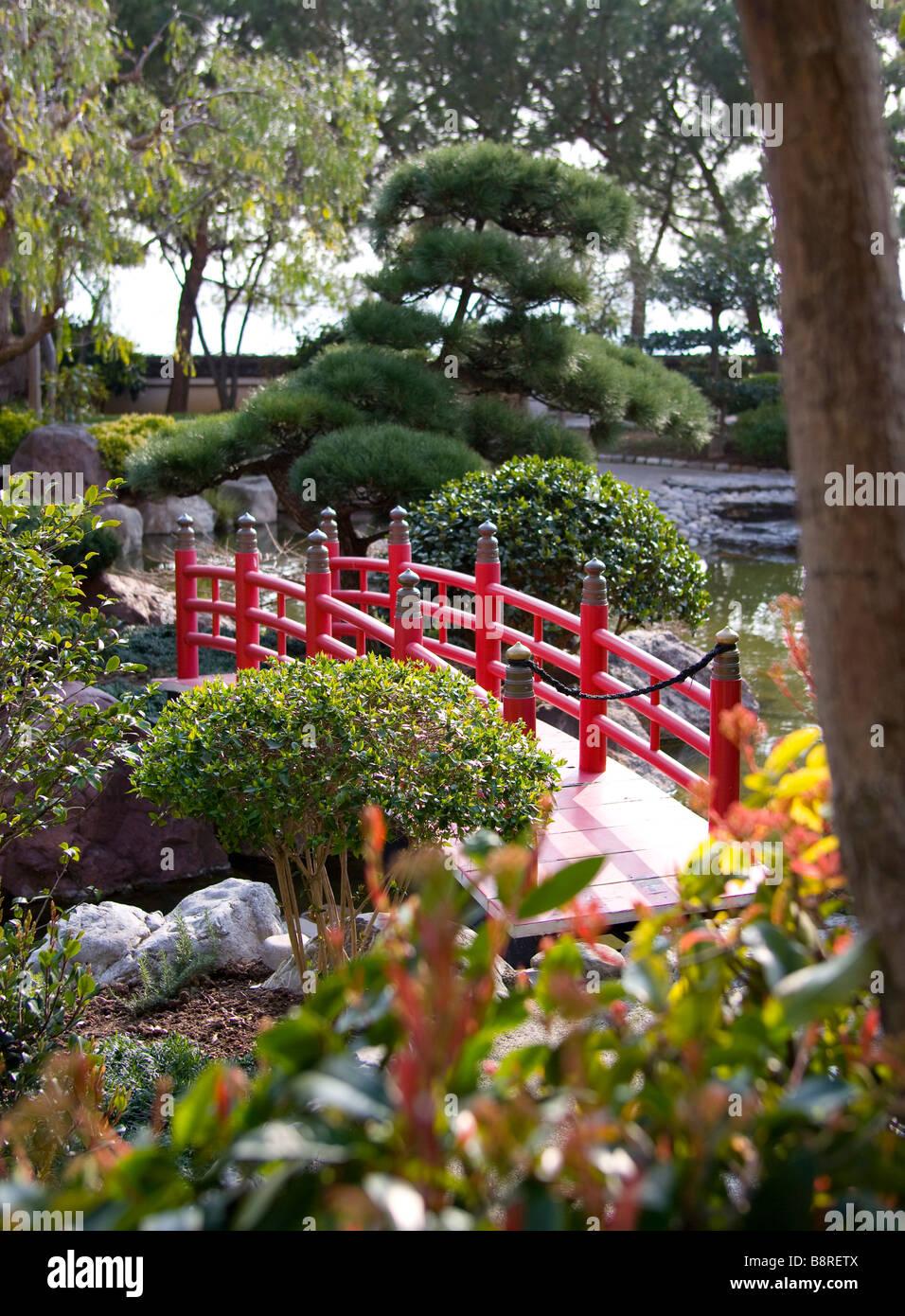 Japanese Garden Monaco Stock Photos & Japanese Garden
