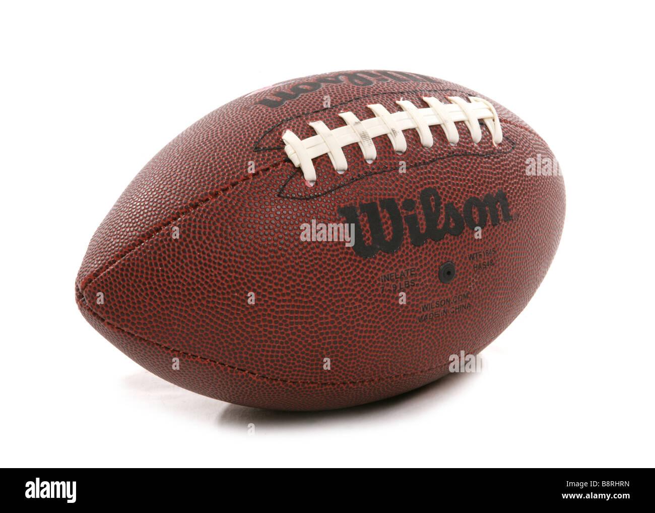 american football cutout - Stock Image