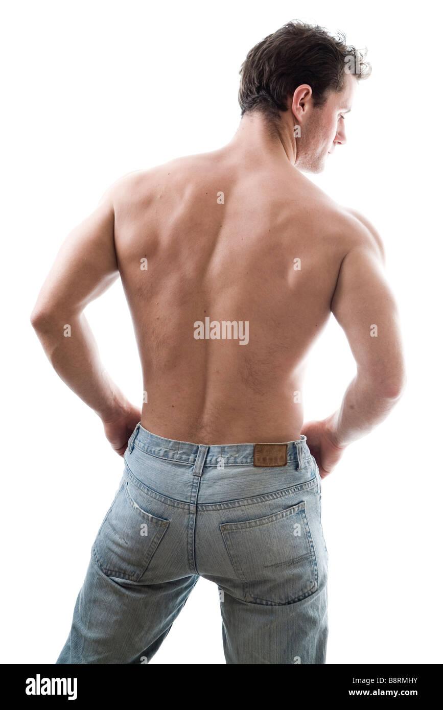 Bodybuilder - Stock Image