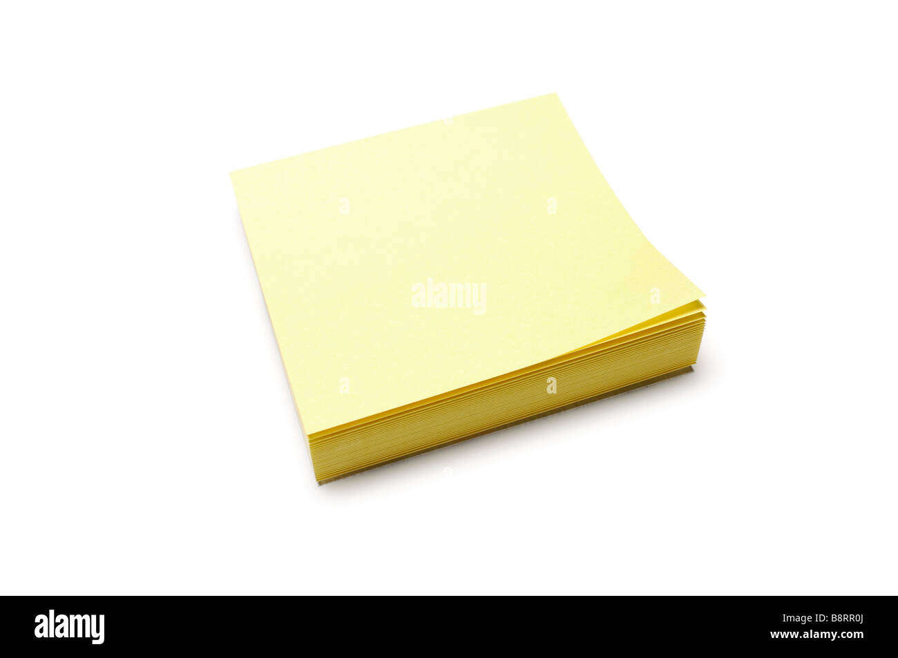 Adhesive Notes - Stock Image
