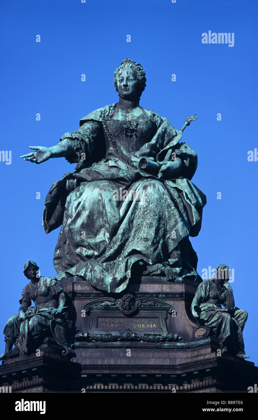 Bronze Statue of Maria Theresa 1717 80 Archduchess