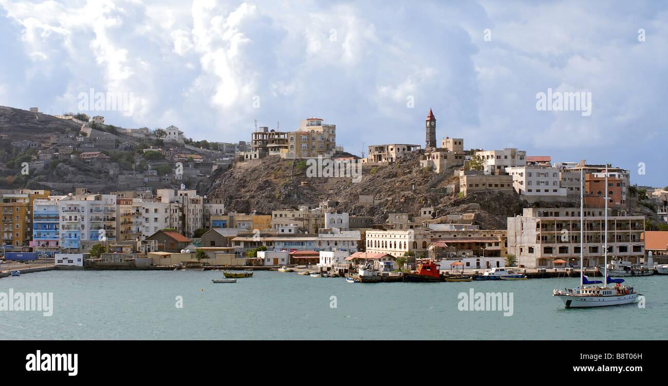 harbour of Aden, Yemen, Aden - Stock Image