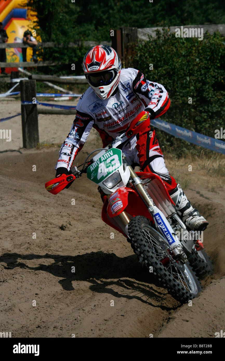 A photo from Maxxis Enduro World Championship in Poland, Kwidzyn, 14th June 2008. - Stock Image