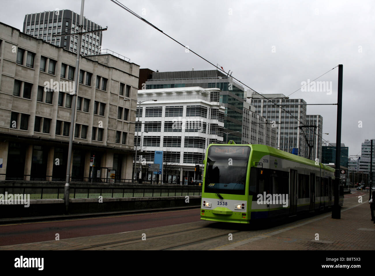 london borough of croydon surrey uk 2009 - Stock Image