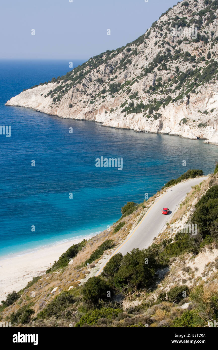 Mirtos beach, Kefalonia, Greece. Europe - Stock Image