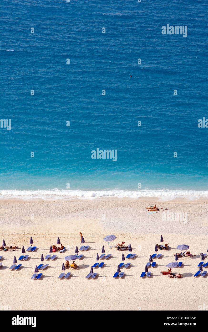 Mirtos beach, Kefalonia, Greece.Europe - Stock Image