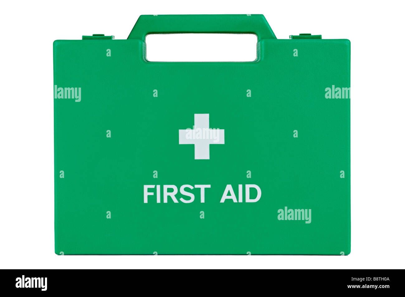 First Aid Box, Cut Out. - Stock Image