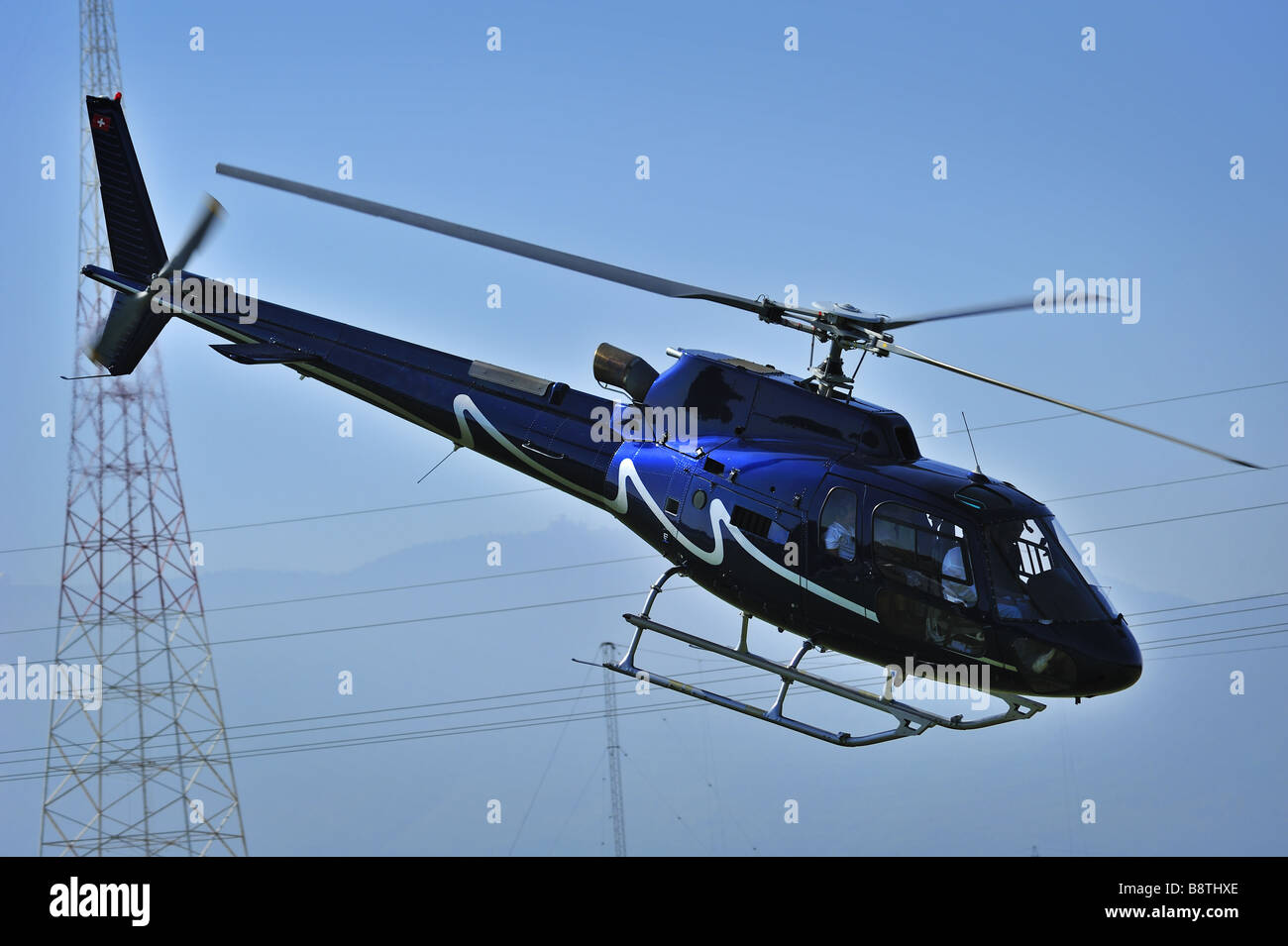 Aerial obstructions - Stock Image