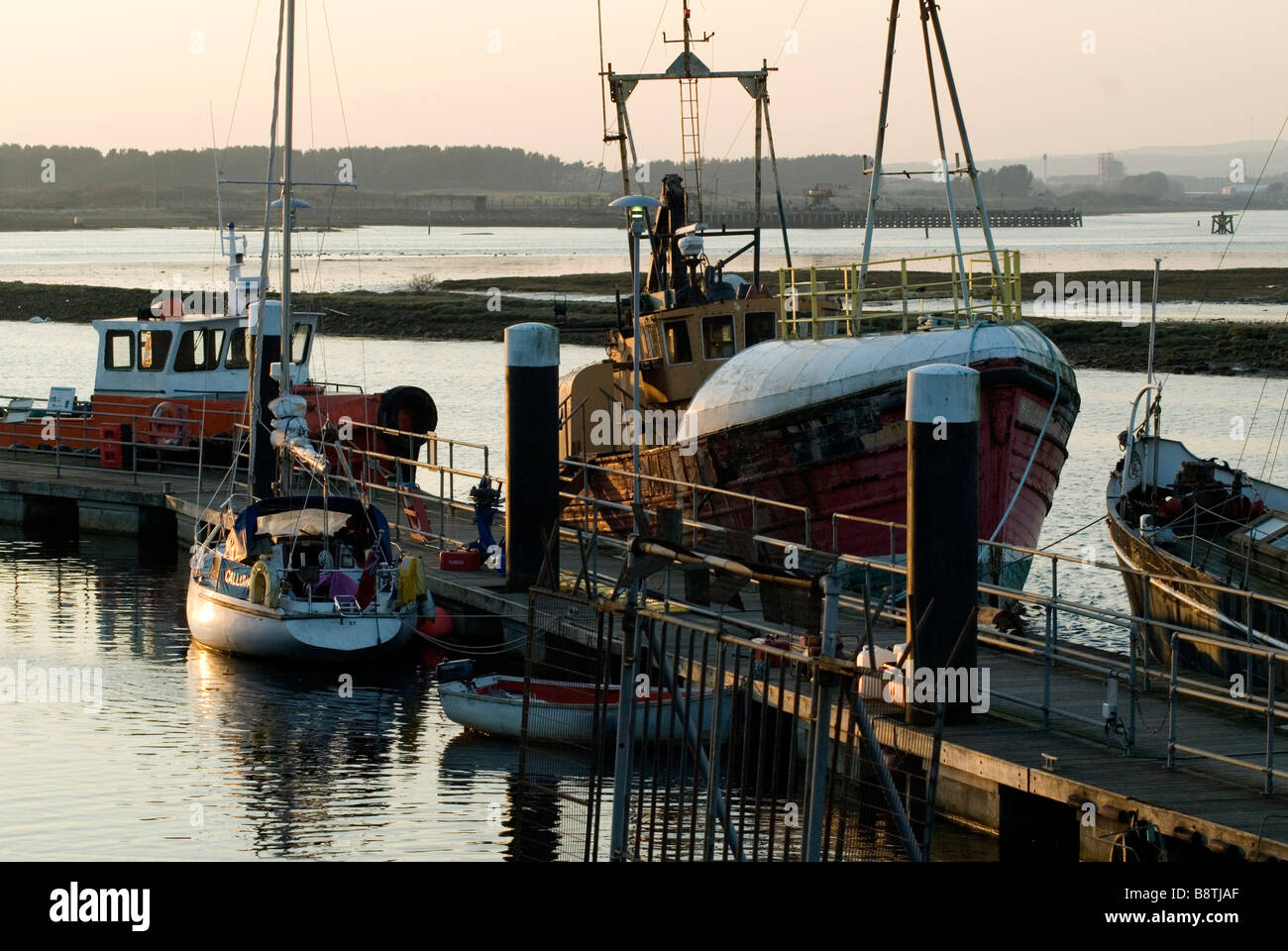 Scottish Maritime Museum at Irvine , Ayrshire Stock Photo