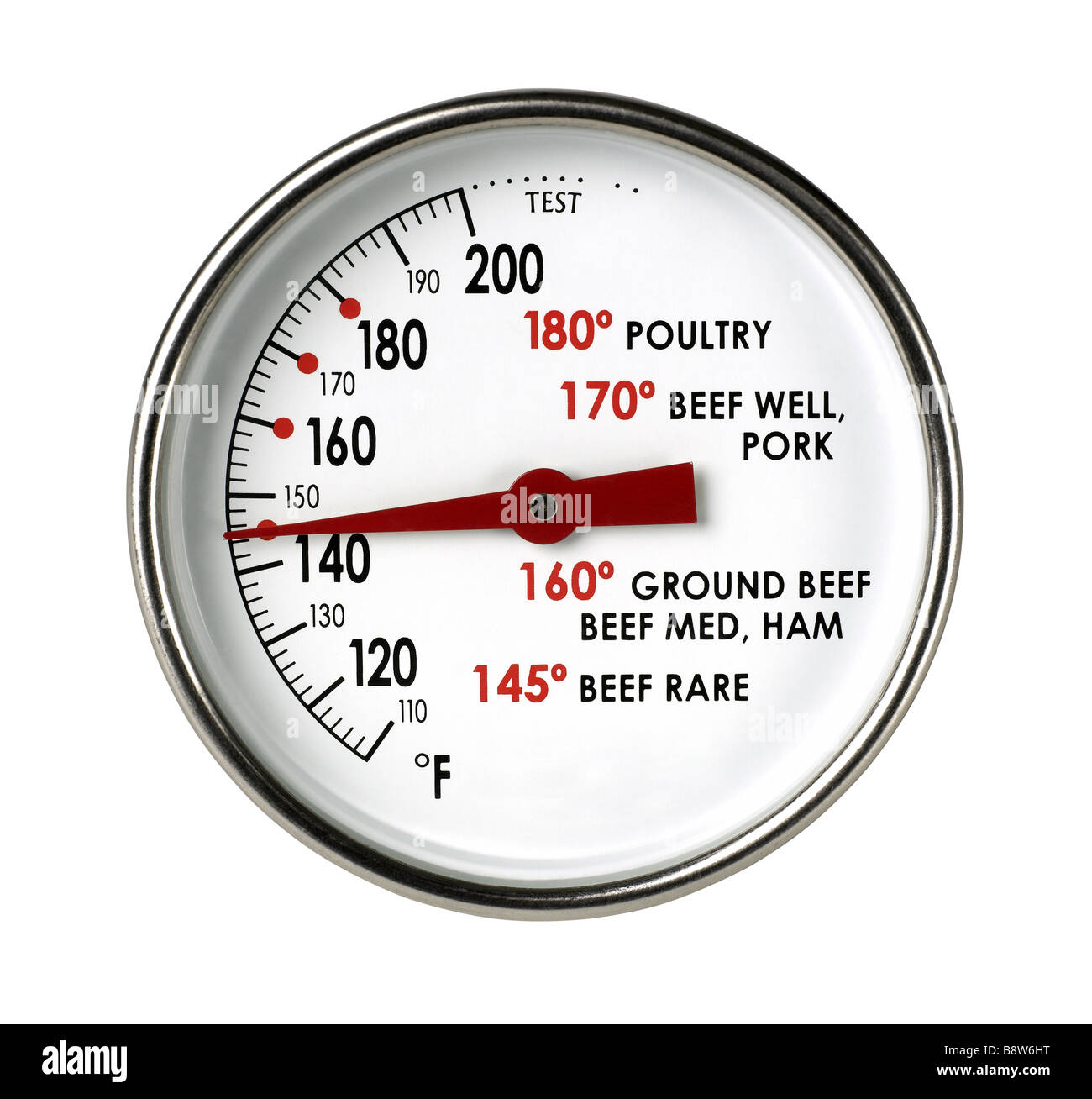 Meat thermometer - Stock Image