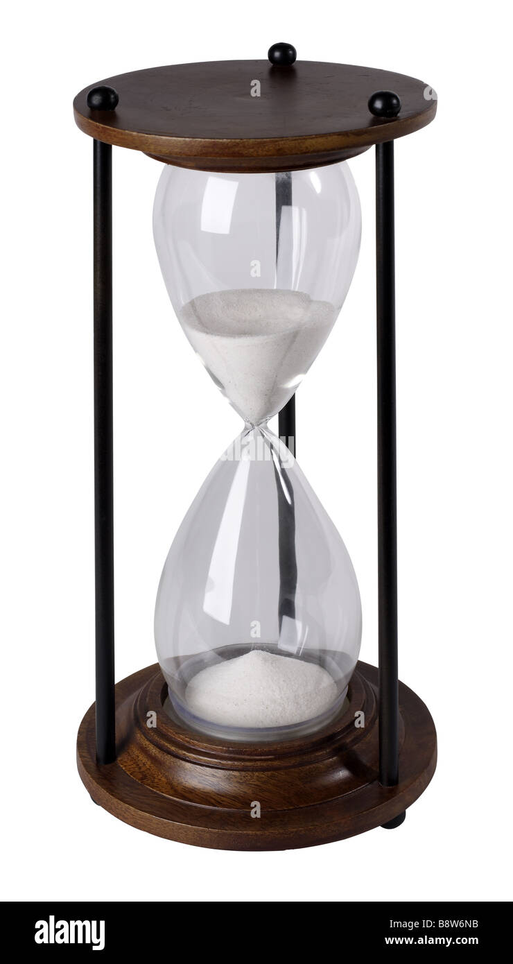 hourglass - Stock Image