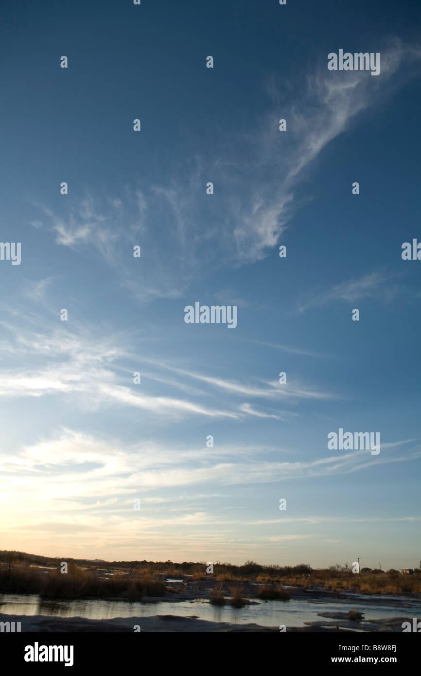 Cloudy Sky - Stock Image