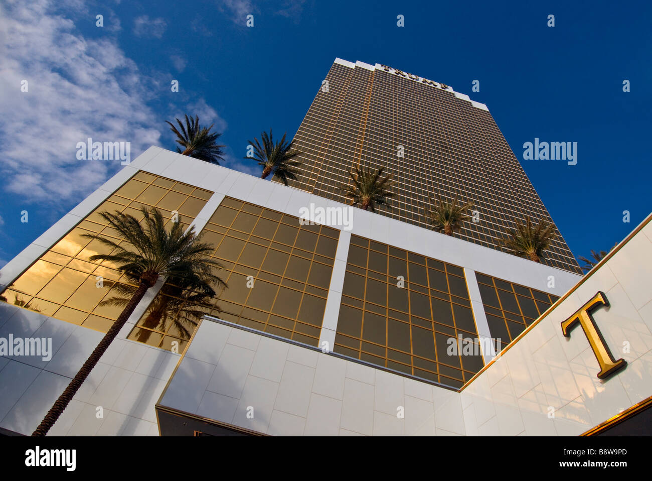 Trump tower Las Vegas - Stock Image