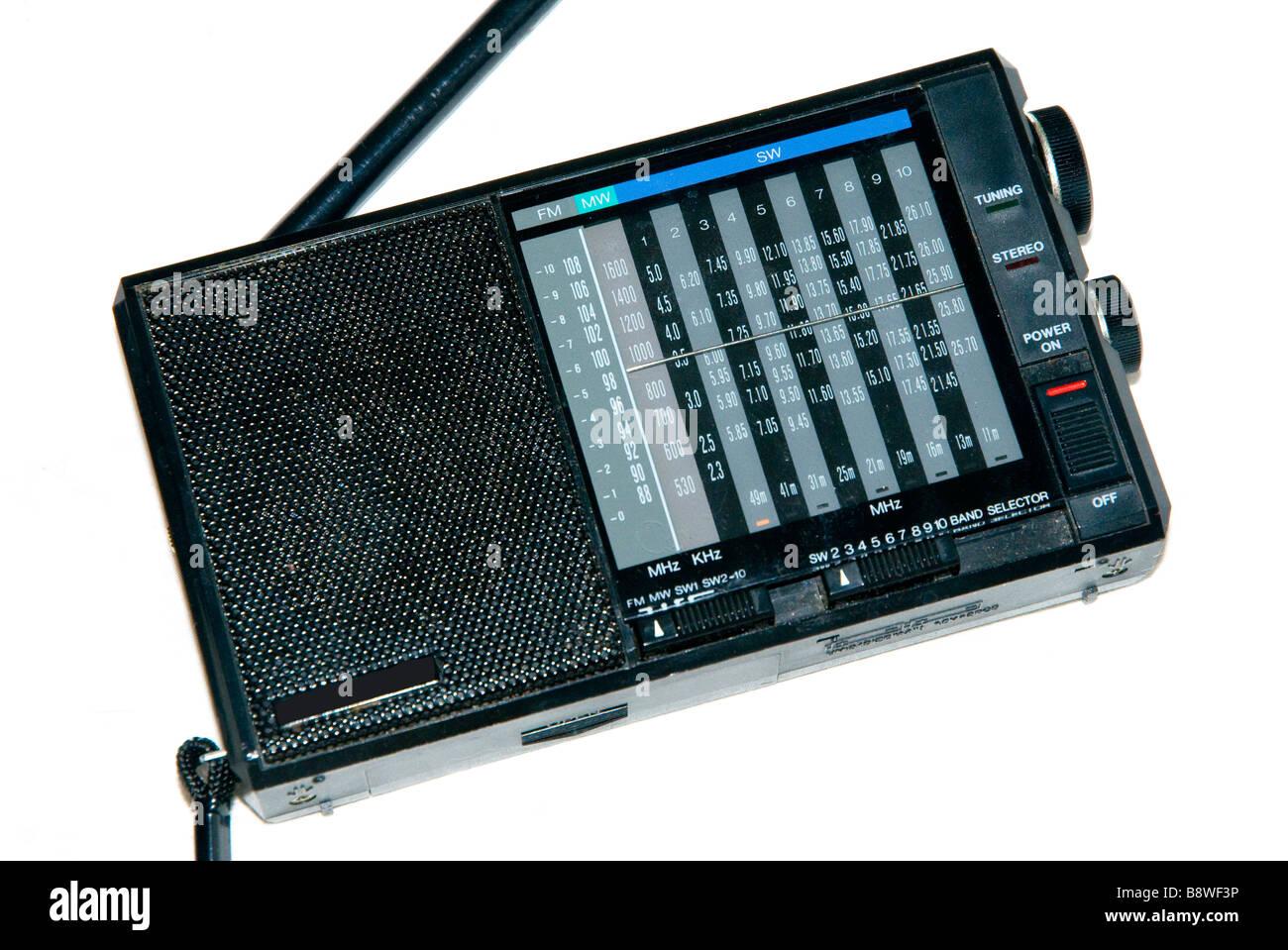 Short Wave Radio Stock Photos Images Alamy 25 Metres Range Am Transmitter Image