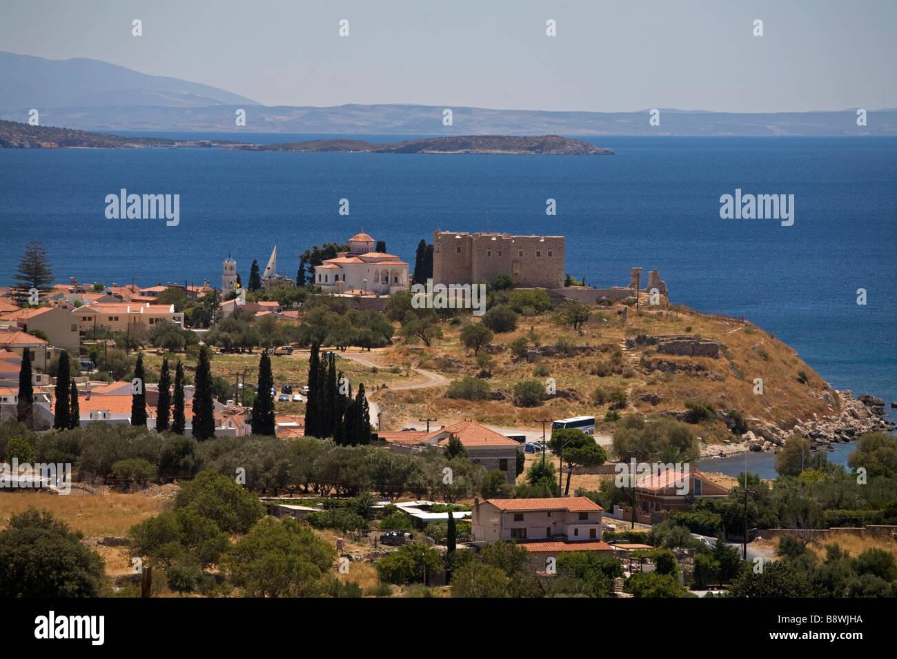 Lykourgos Logothetis Pythagorion Samos Greece Stock Photo