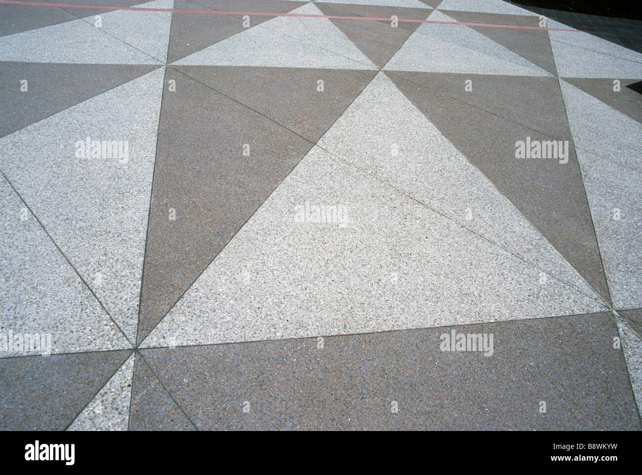 triangle shape pattern geometry floor tile repeat repetition theme ...