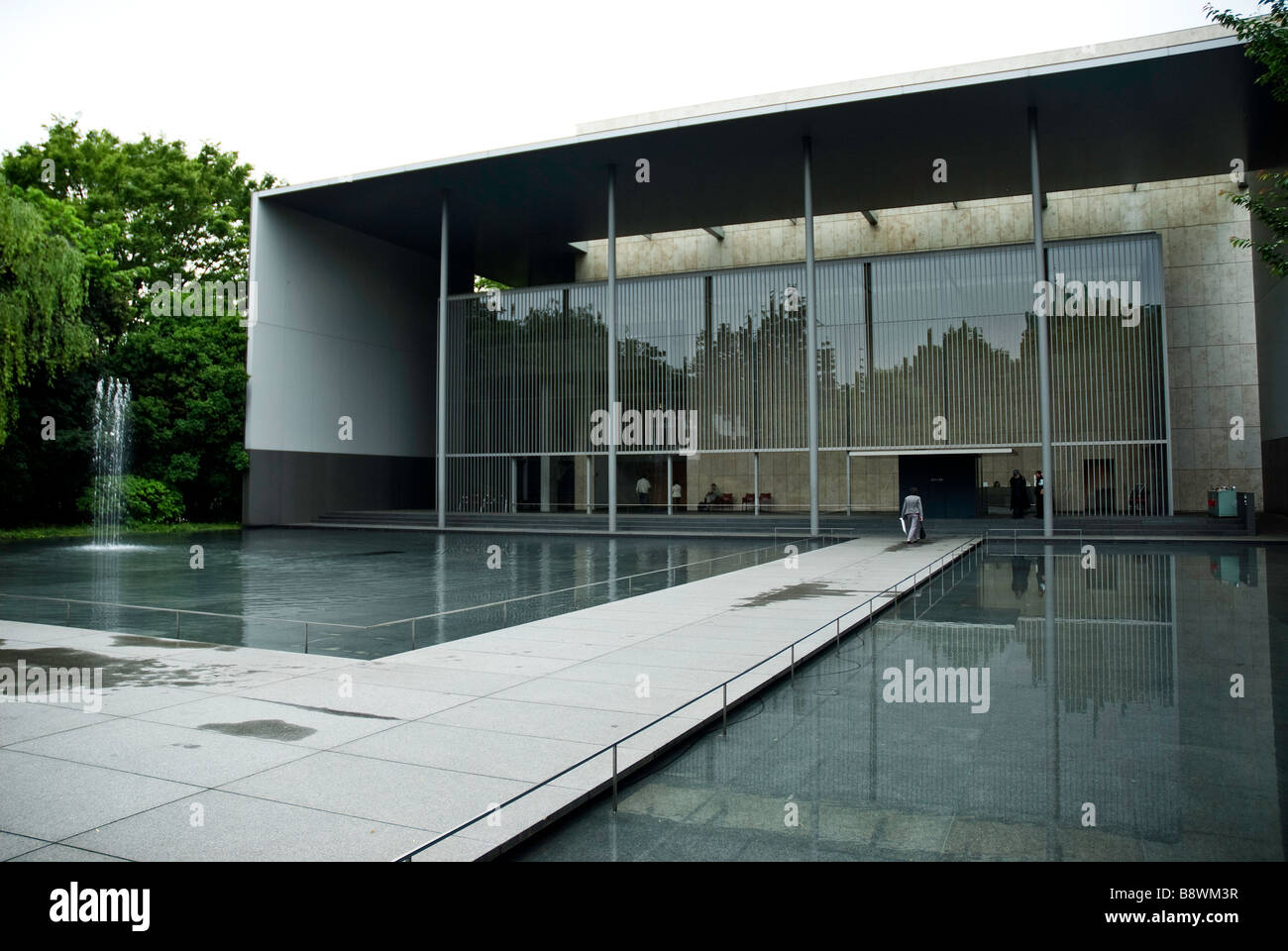 modern architecture art museum tokyo japan asia stock photo 22692203 alamy. Black Bedroom Furniture Sets. Home Design Ideas
