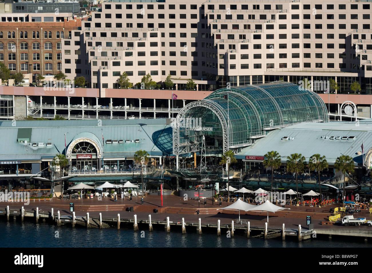 Sydney Australia  Novotel Hotel and Harbourside Shopping