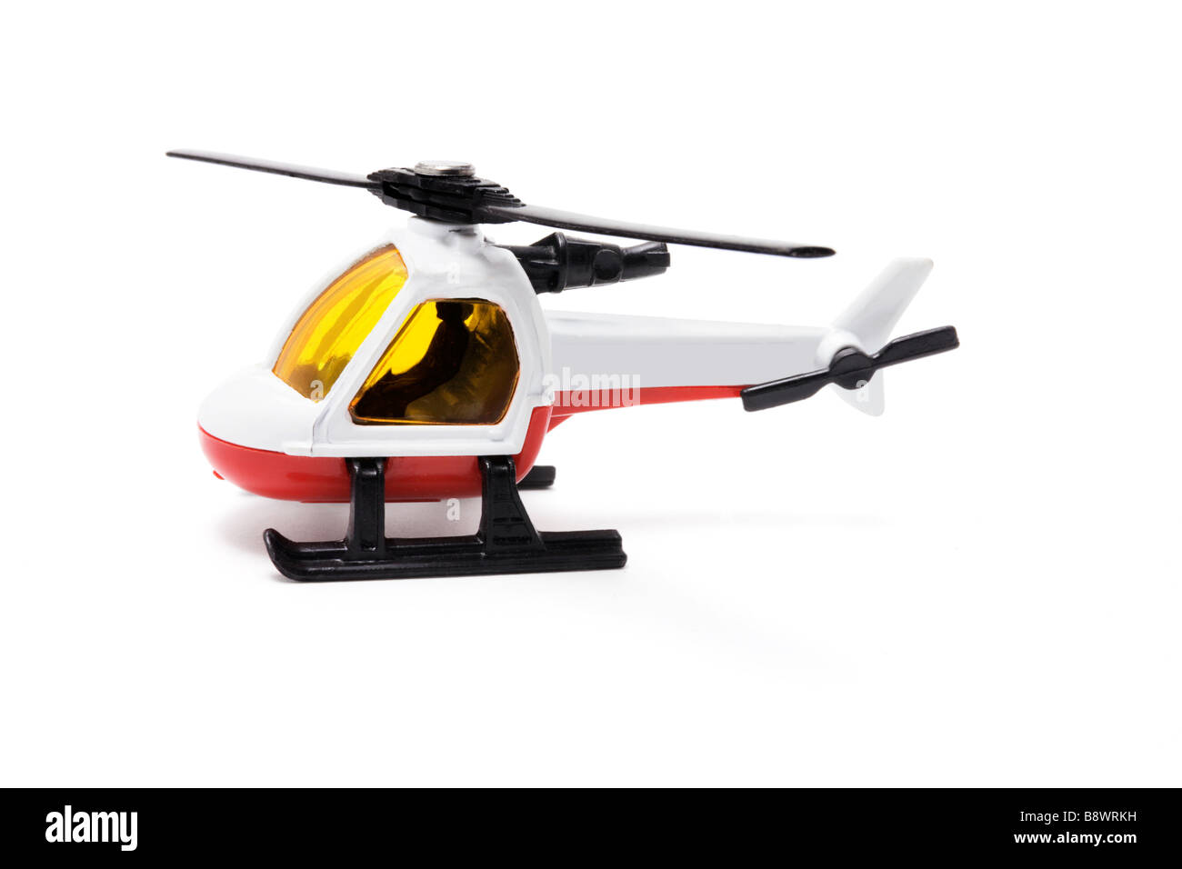 Miniature Helicopter - Stock Image