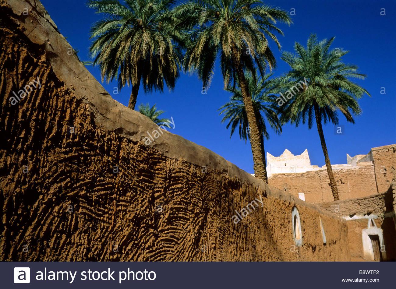 medina of gadames, lybia, africa, - Stock Image