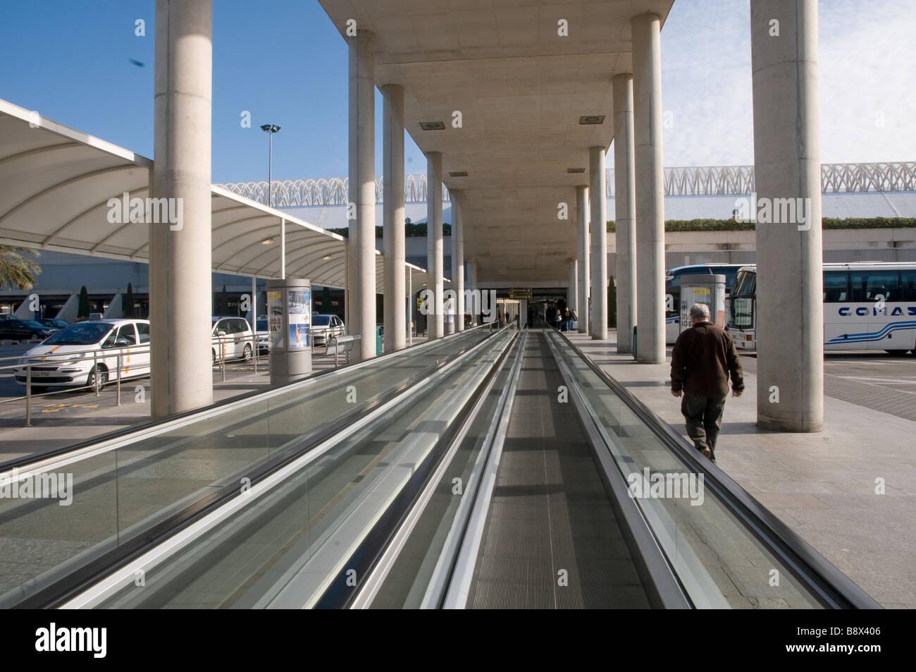 Europe Spain Balearic Islands Majorca airport Son Sant Joan - Stock Image