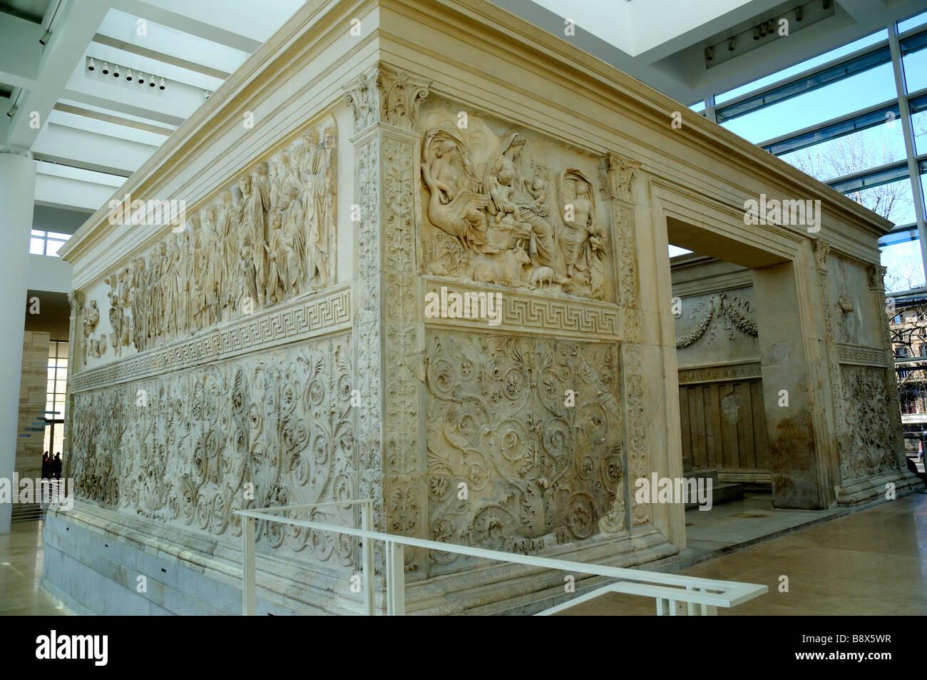 Ara Pacis Augustae Ancient Rome Live