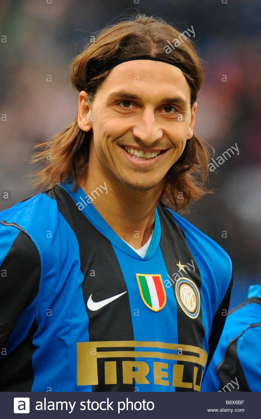 zlatan ibrahimovic'milano 14 12 2008 'serie a football championship 2008/2009 'inter-chievo 4-2 - Stock Image