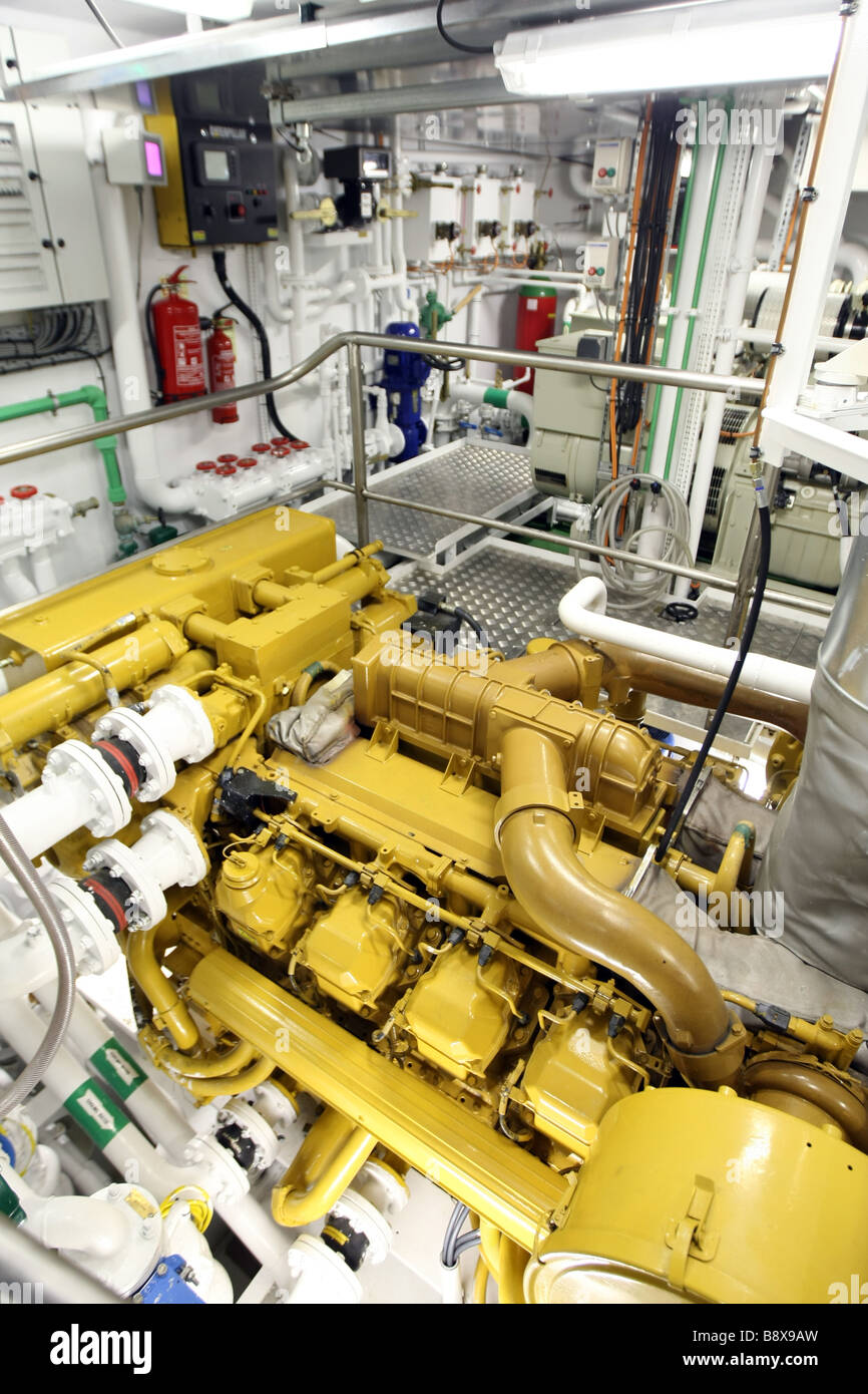 Trawler Engine Room