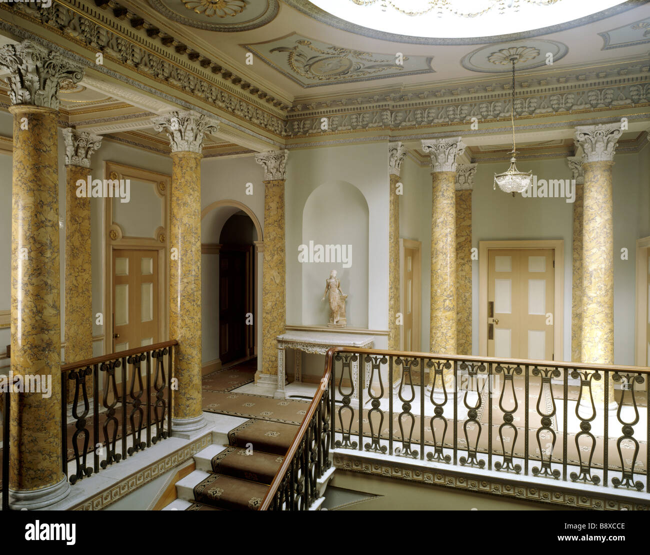 Berrington Hall Stock Photo