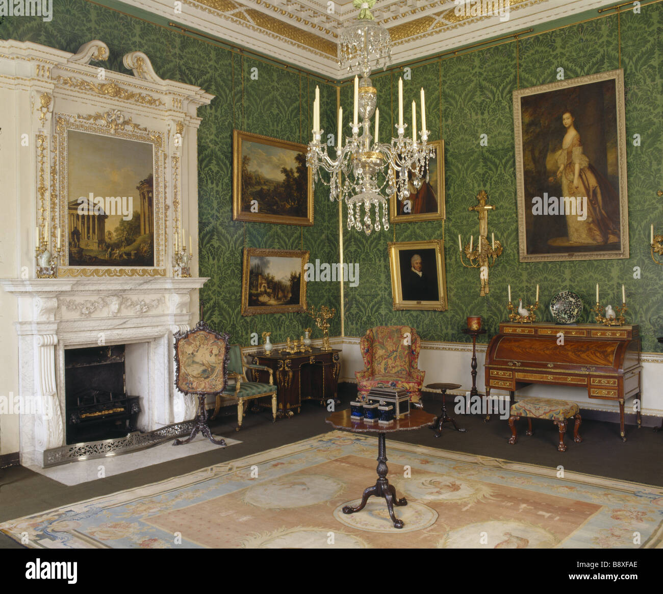Clandon Park Stock Photo