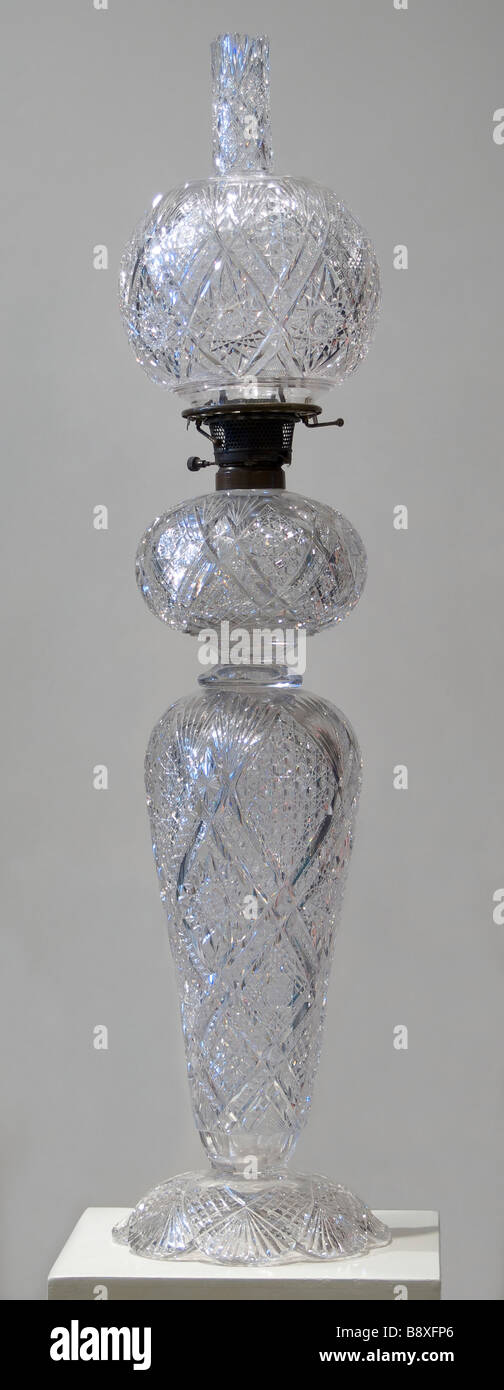Kerosene oil lamp - Stock Image