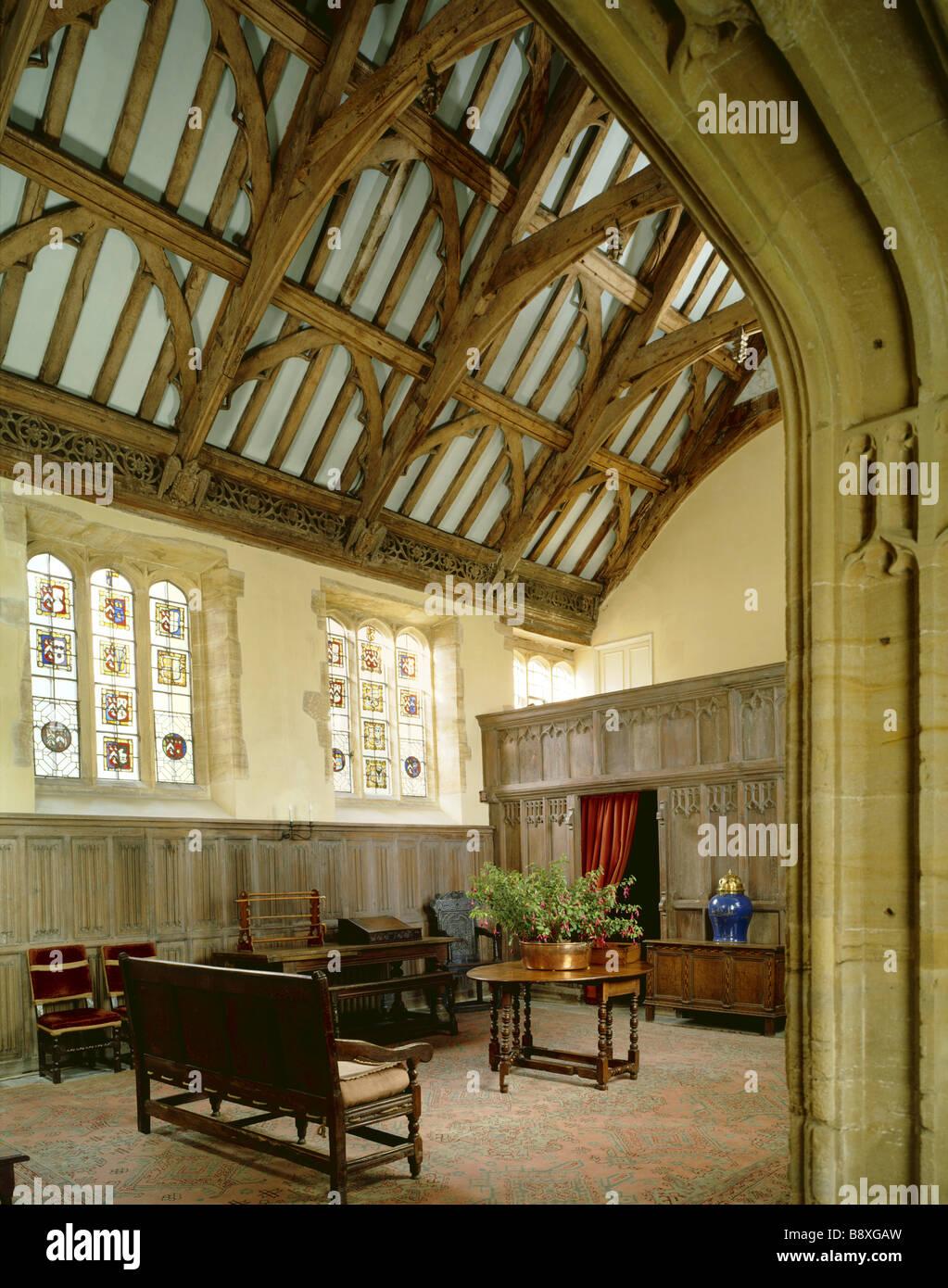 Lytes Cary Manor Stock Photo