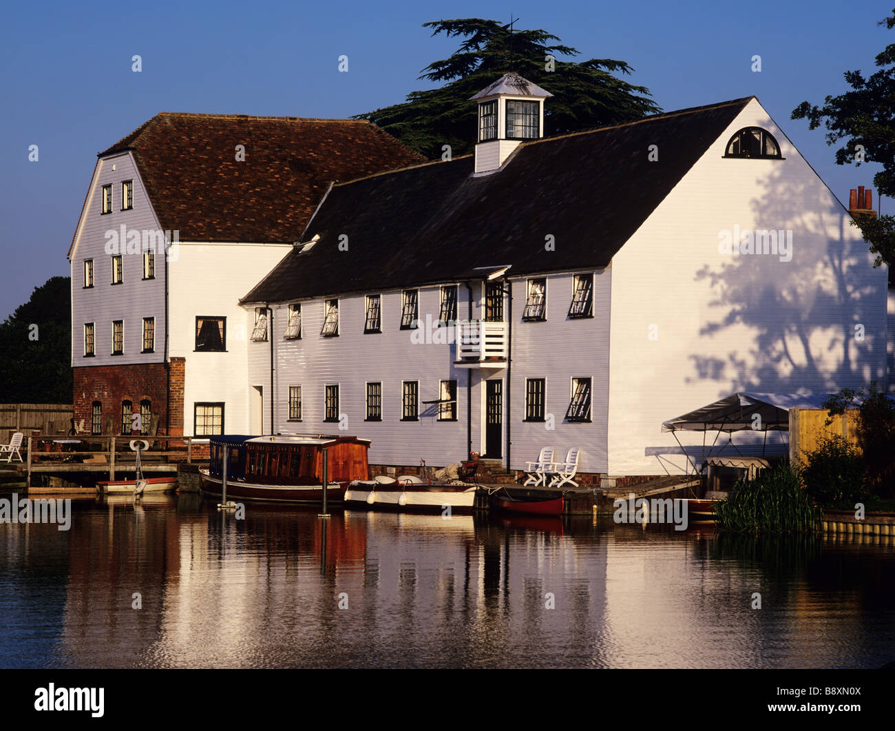 the river thames at hambleden - Stock Image