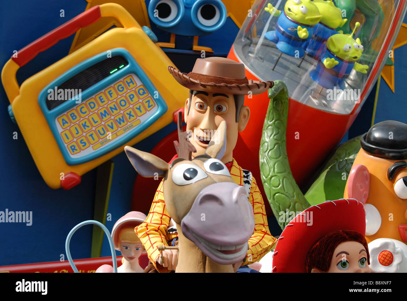Woody from toy story - Stock Image