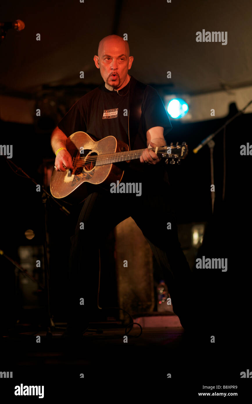 singer songwriter Kevin Seconds - Stock Image