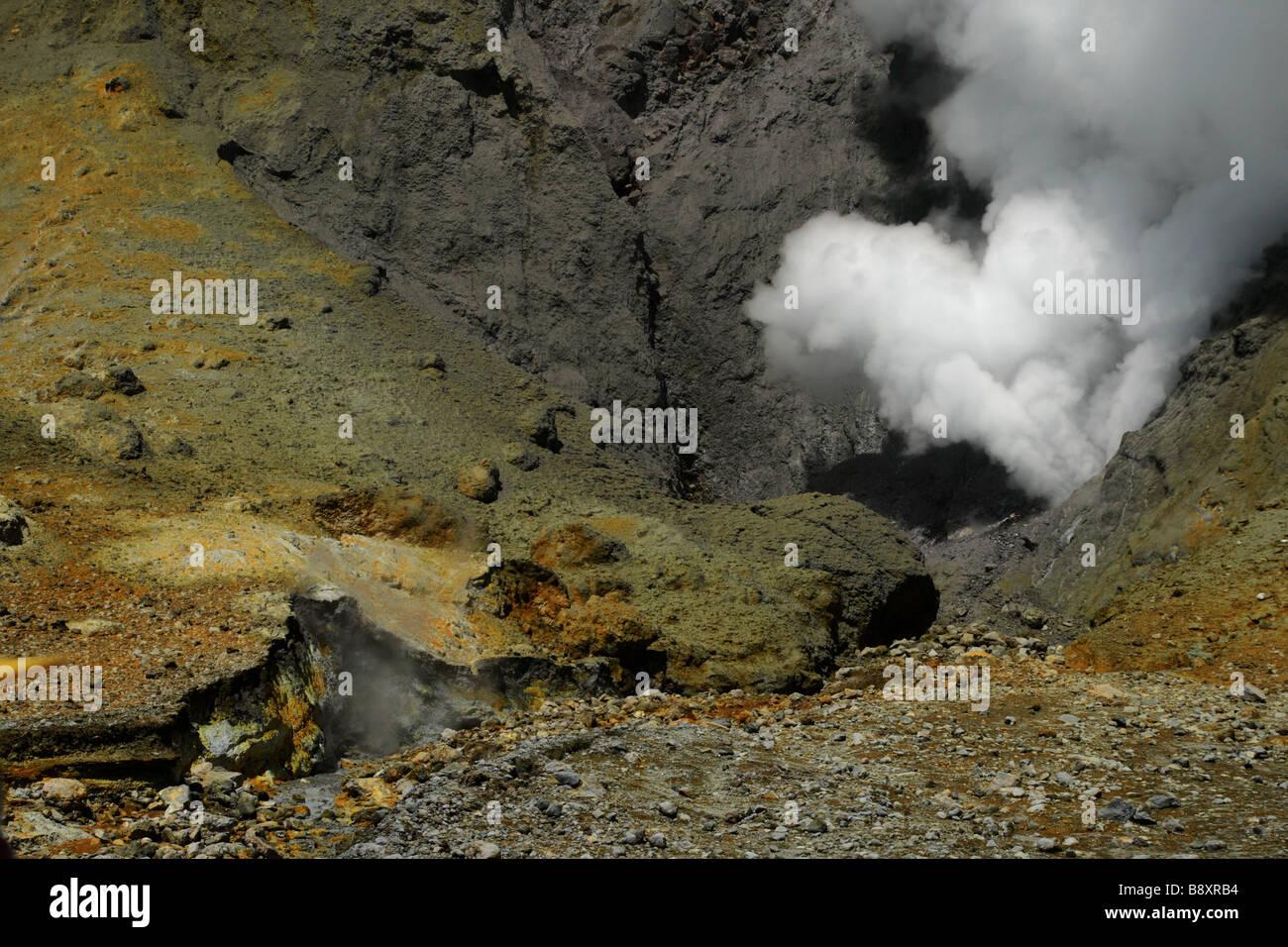 Steam vent - Stock Image