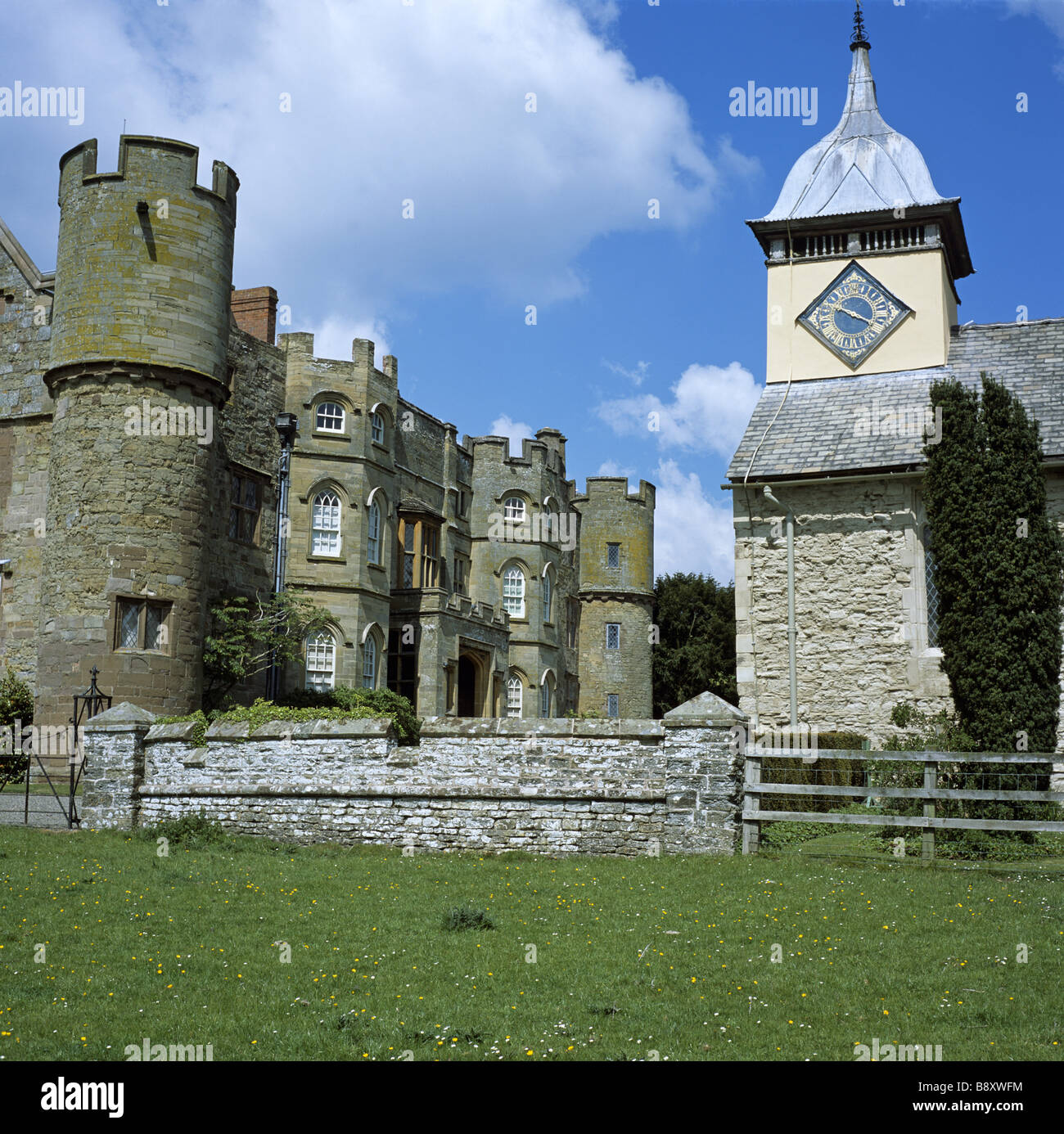 Croft Castle - Stock Image