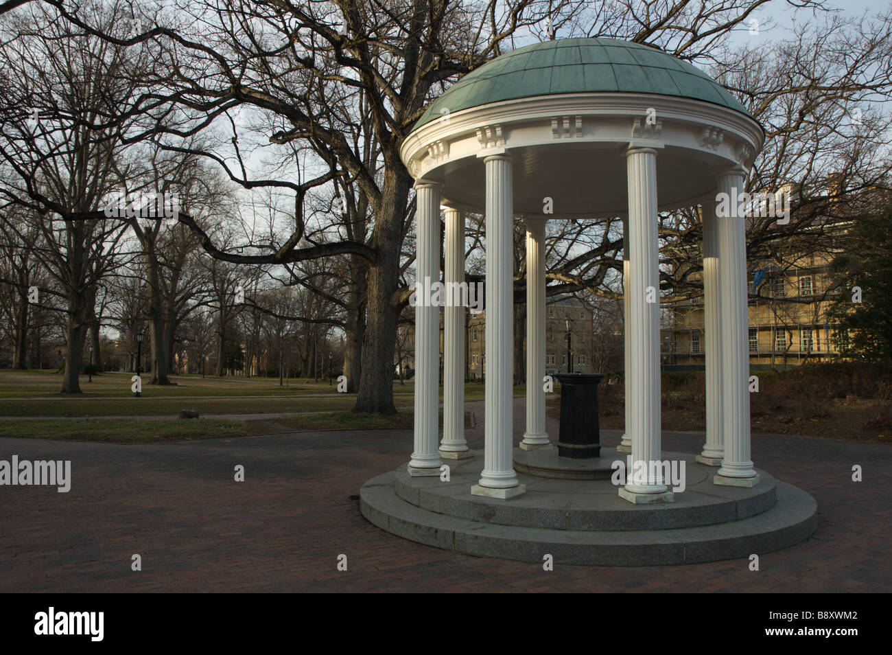 The Old Well, University of North Carolina at Chapel Hill Stock Photo