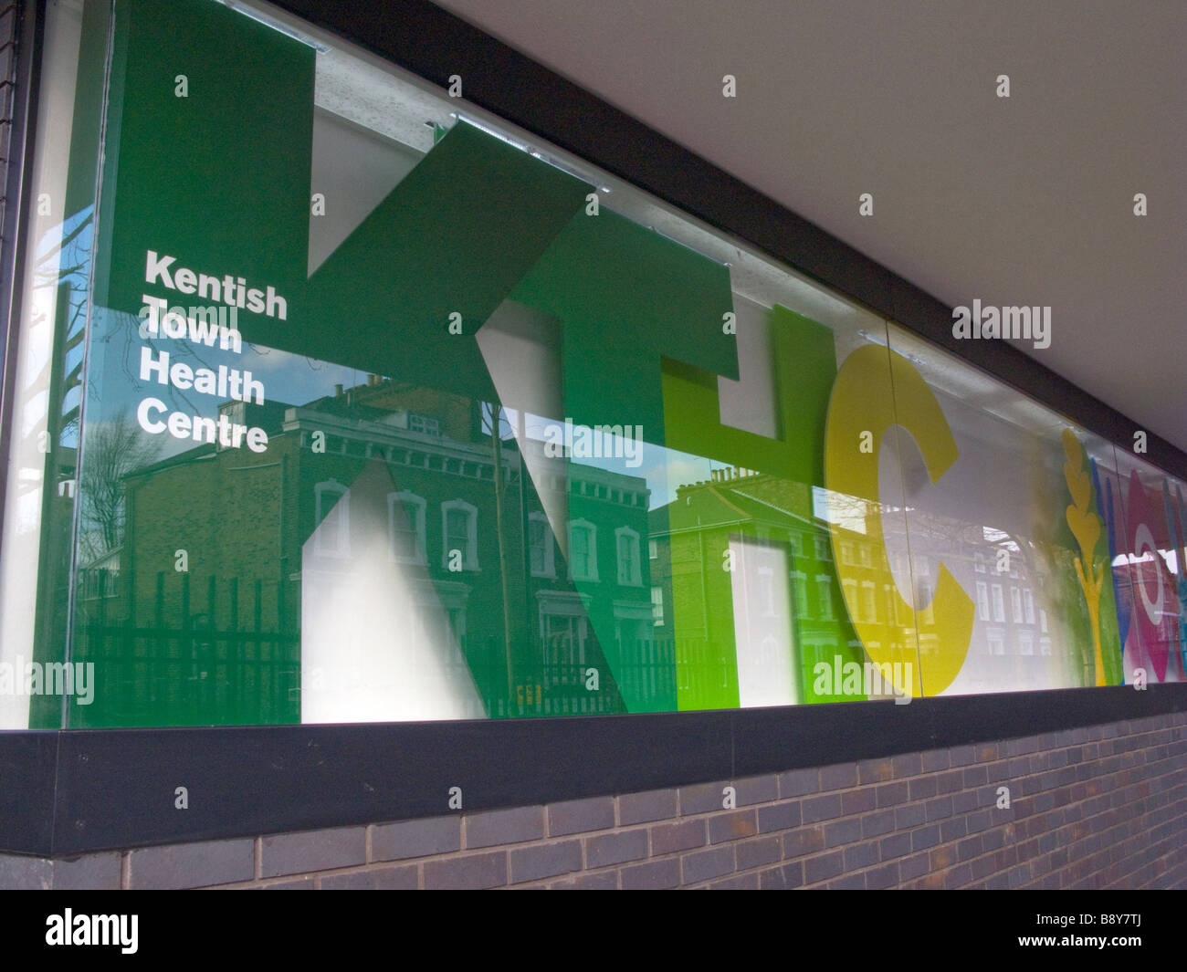 UK.New NHS Kentish Town Health Centre in Camden.Photo by Julio Etchart - Stock Image