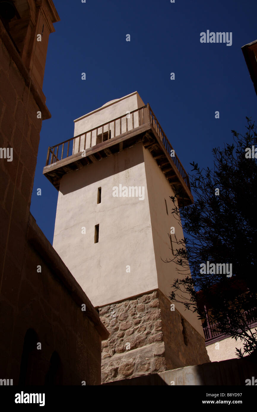 St Catherine's monastery, South Sinai, Egypt - Stock Image