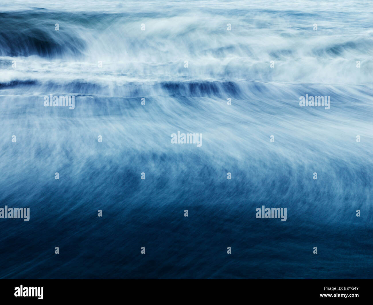 The North Atlantic in motion Iceland. - Stock Image