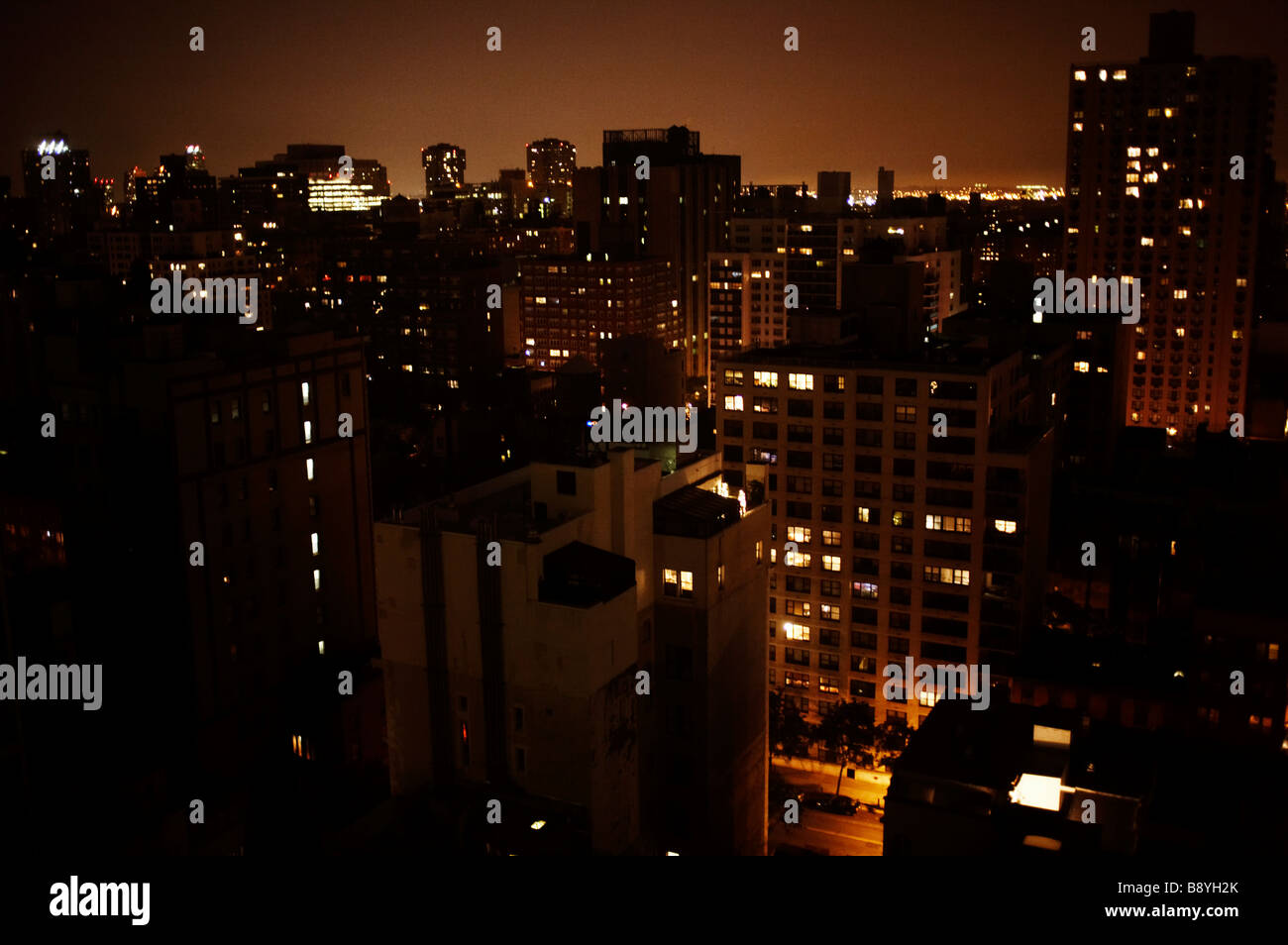View of New York City USA. - Stock Image