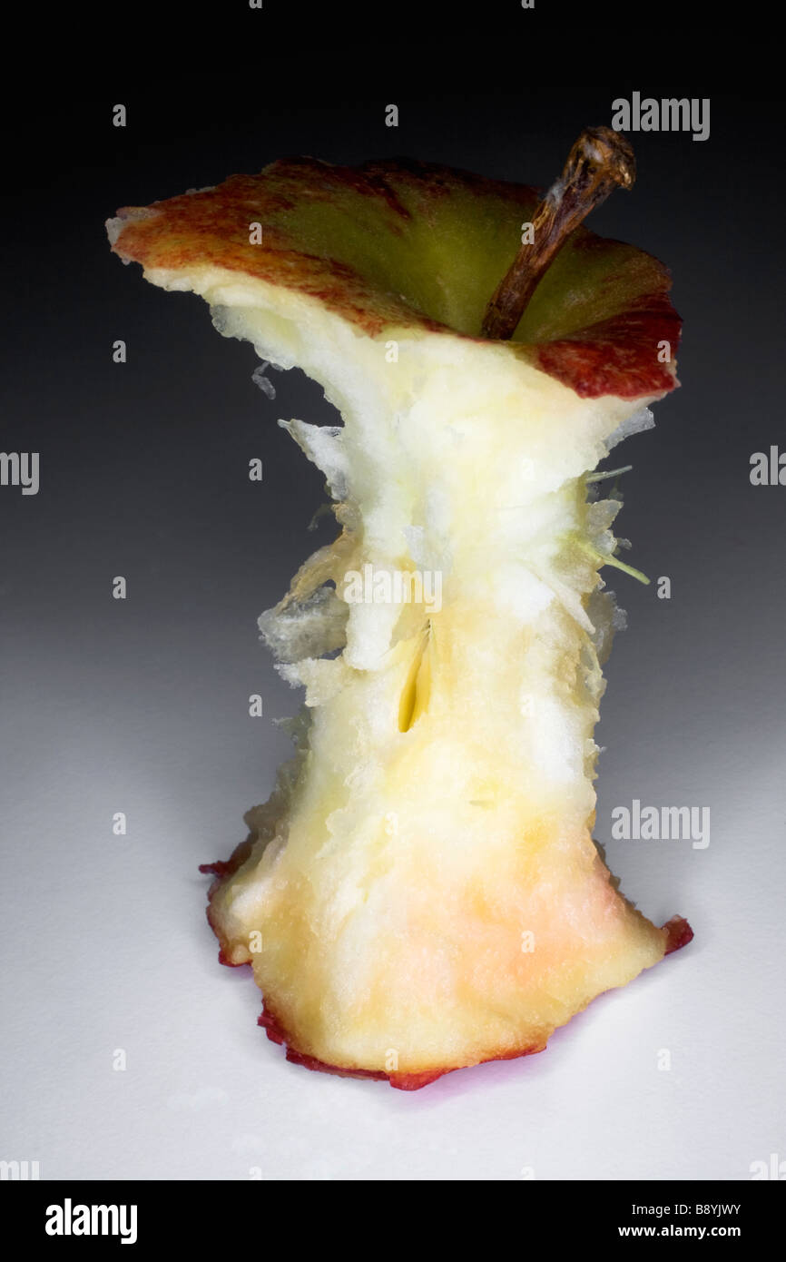 An apple-core Sweden. - Stock Image