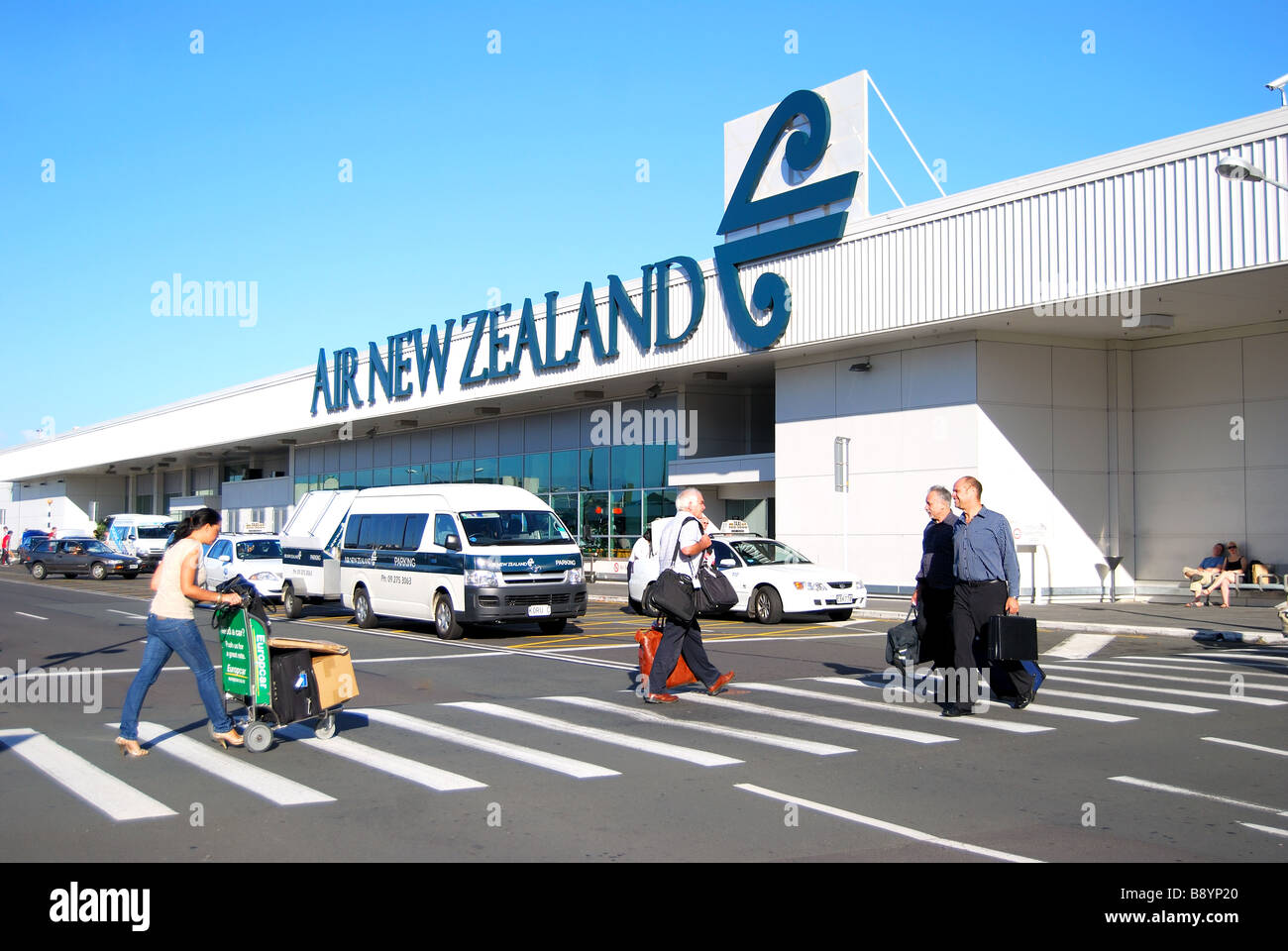 Domestic Terminal Auckland International Airport Mangere Auckland